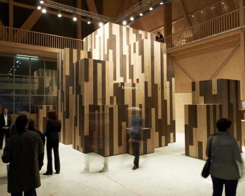 Bauwerk Parkett Designers Saturday 2010_Entwurf SHW