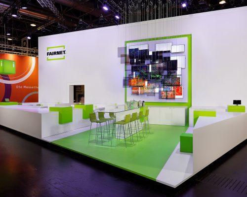 Fairnet Euroshop Düsseldorf Entwurf: FAIRNET, Projektmanagement: FAIRNET, Ausführungspartner: Messebau Arnold